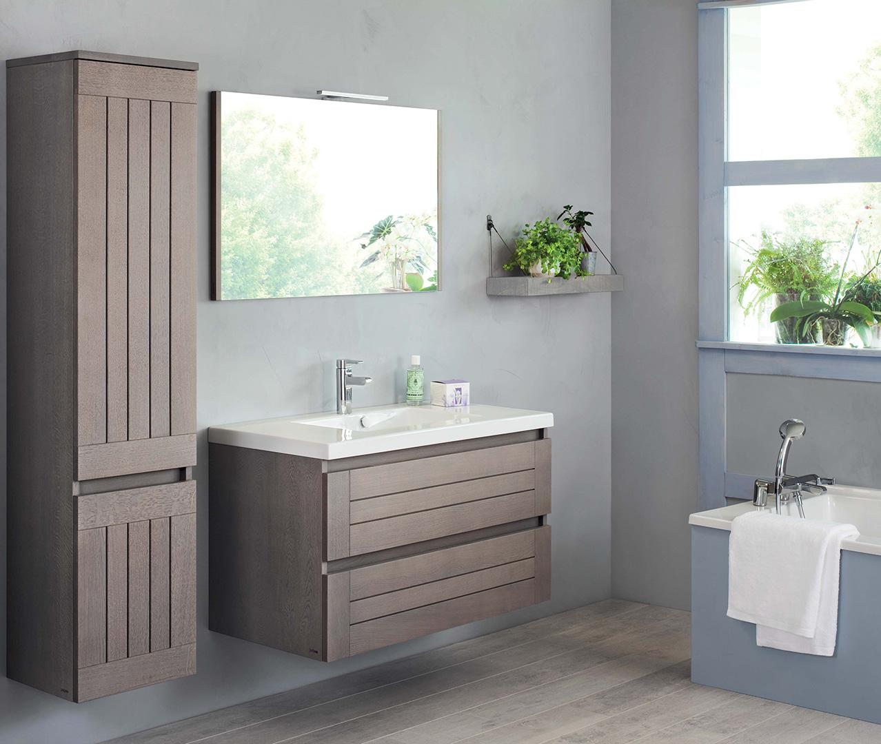 Gamma Lignum, houten badkamermeubel – Sanijura