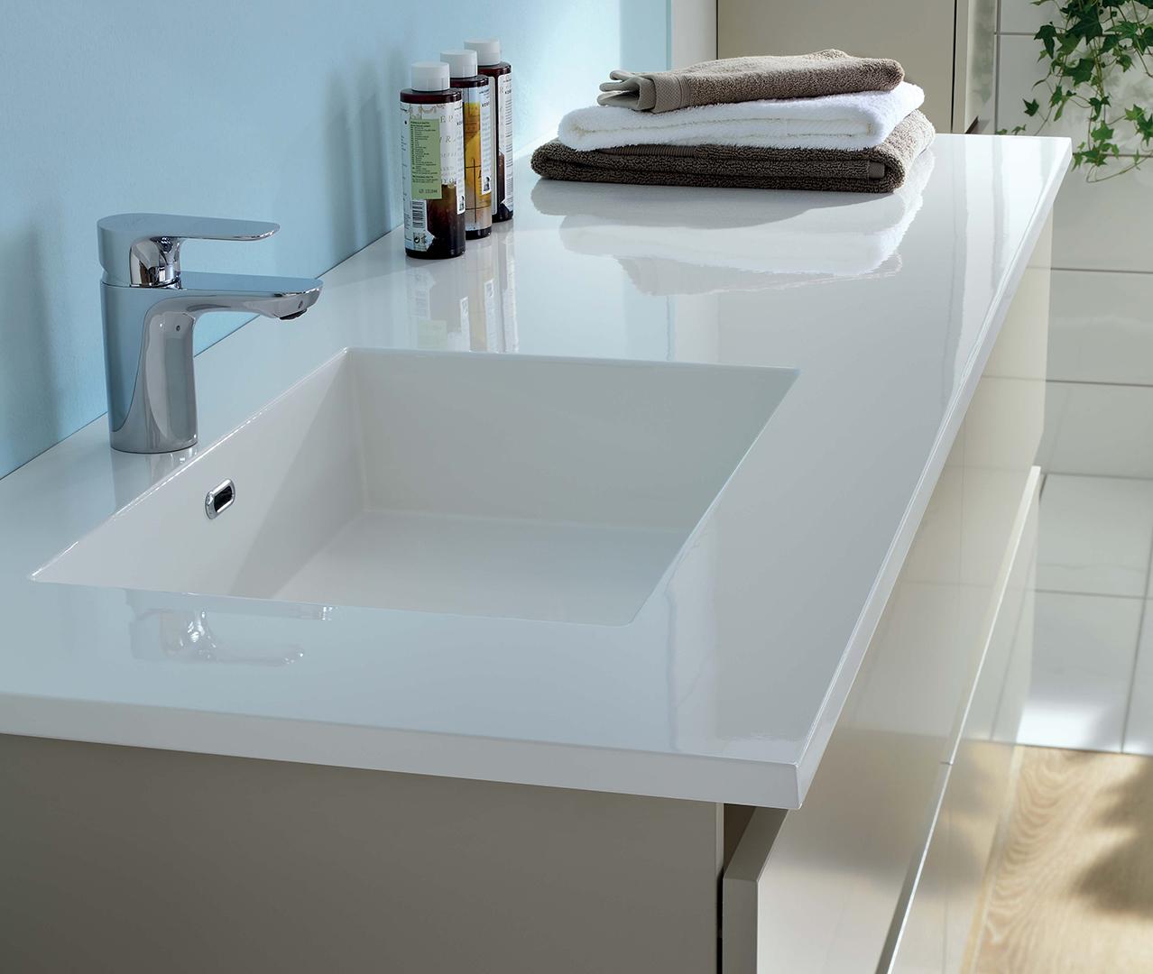 Gamme Sobro, grand meuble salle de bain - Sanijura