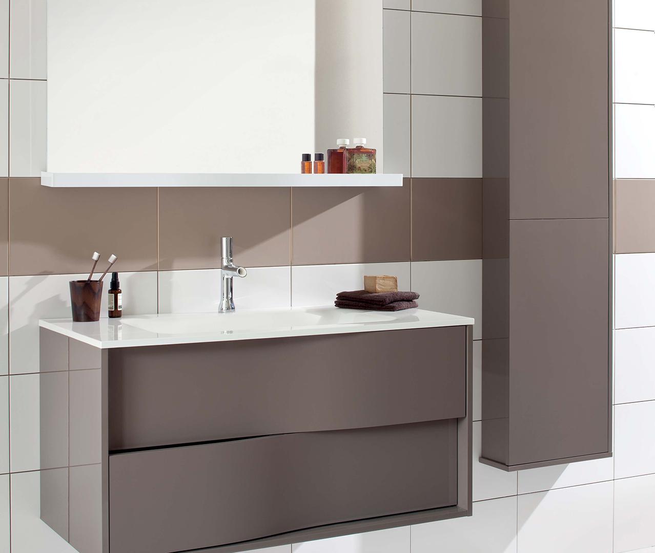 Gamme my lodge meuble salle de bain en bois sanijura for Configurer une salle de bain
