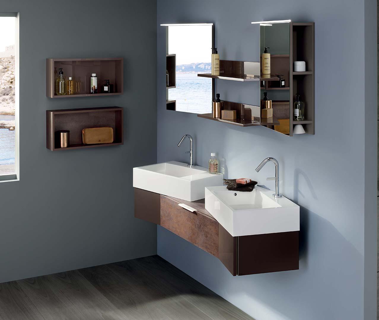 gamme vertigo salle de bain design meuble sdb sanijura. Black Bedroom Furniture Sets. Home Design Ideas