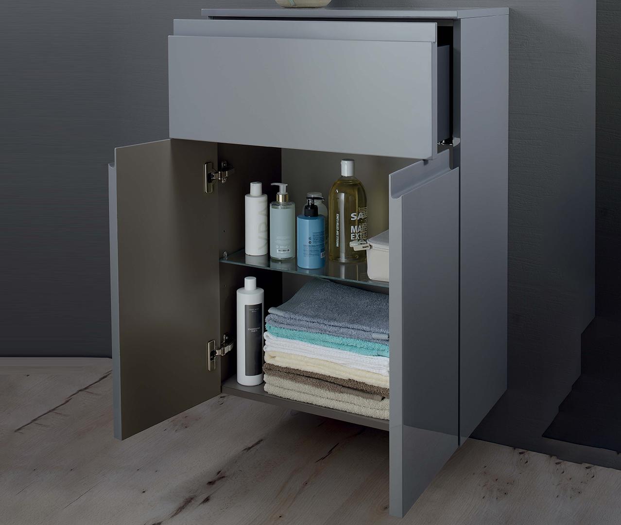 Gamme elemento colonne salle de bain colonne rangement for Configurer une salle de bain