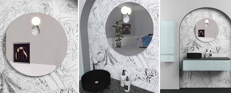 Miroir Patère  - Sanijura