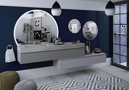 meuble de salle de bain Infinie urbaine - Sanijura