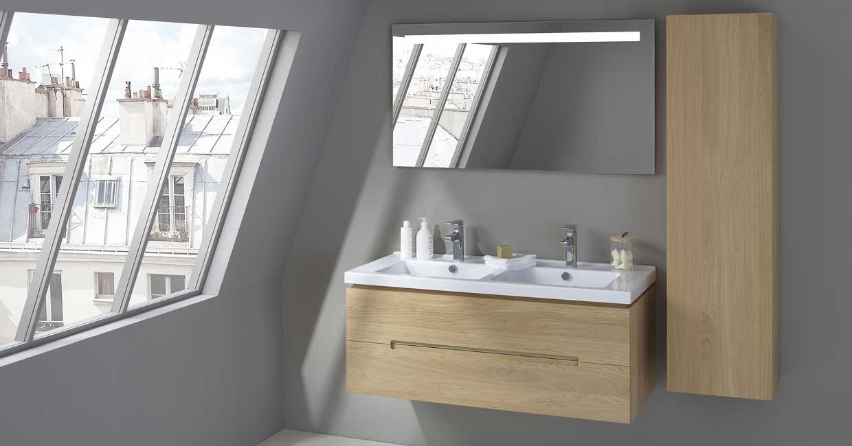 Comment aménager une salle de bain sous comble ? - Sanijura