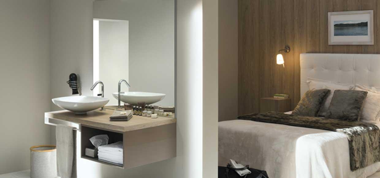 Salle de bain mixcity chêne - Sanijura
