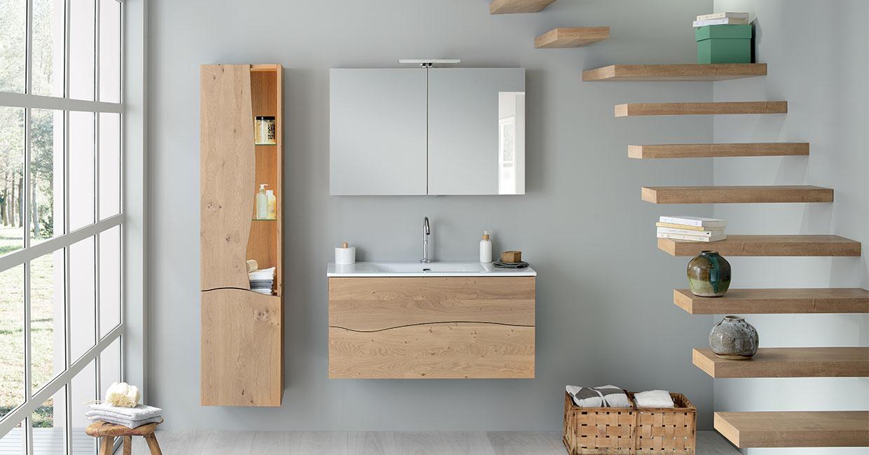 Difference Blanc Brillant Et Blanc Laqué bois massif, des gammes de salle de bain pour répondre à