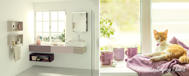 meuble de salle de bain vertigo - Sanijura